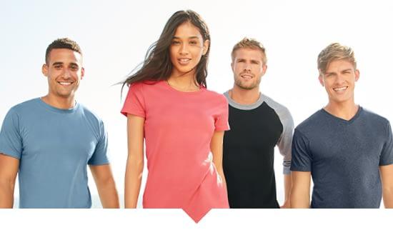 wholesale blank t-shirts